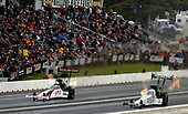 NHRA Mello Yello Drag Racing Series<br /> NHRA New England Nationals<br /> New England Dragway, Epping, NH USA<br /> Saturday 3 June 2017 Antron Brown, Matco Tools, Top Fuel Dragster, Steve Torrence<br /> <br /> World Copyright: Will Lester Photography