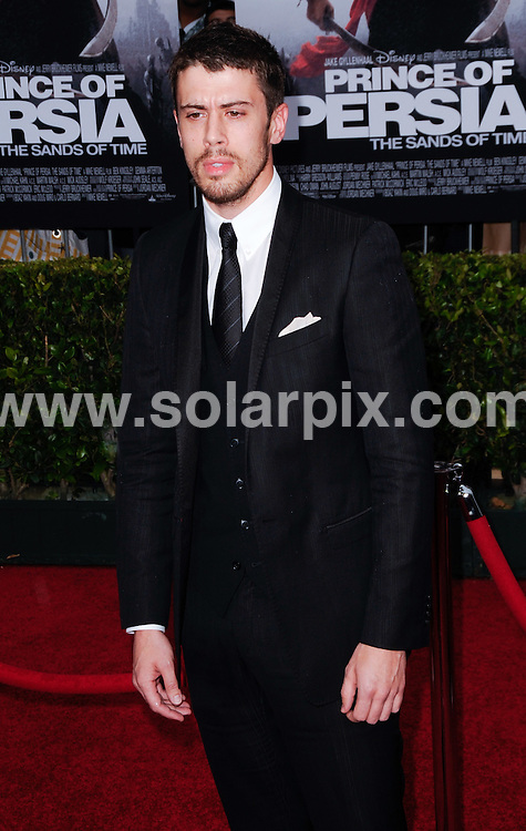 **ALL ROUND PICTURES FROM SOLARPIX.COM**.**SYNDICATION RIGHTS FOR UK, AUSTRALIA, DENMARK, PORTUGAL, S. AFRICA, SPAIN & DUBAI (U.A.E) & ASIA (EXCLUDING JAPAN) ONLY**.Prince Of Persia: The Sands Of Time Los Angeles Premiere - Arrivals, Grauman's Chinese Theater / Hollywood, CA, USA.This pic: Tony Kebbell.JOB REF: 11269    PHZ gabber   DATE: 17_05_2010 .**MUST CREDIT SOLARPIX.COM OR DOUBLE FEE WILL BE CHARGED**.**MUST NOTIFY SOLARPIX OF ONLINE USAGE**.**CALL US ON: +34 952 811 768 or LOW RATE FROM UK 0844 617 7637**