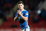 St Johnstone v Kilmarnock…24.11.18…   McDiarmid Park    SPFL<br />Matty Kennedy appluds the fans as he is subbed<br />Picture by Graeme Hart. <br />Copyright Perthshire Picture Agency<br />Tel: 01738 623350  Mobile: 07990 594431