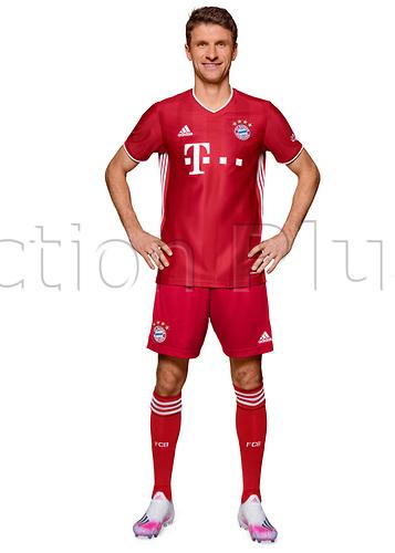 26th October 2020, Munich, Germany; Bayern Munich official seasons portraits for season 2020-21;  Thomas Mueller