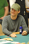 Actor Toby Maguire is all in, loses the hand, then pounds the table to his opponent.  Maguire cashed in the main event.