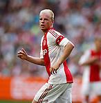 Nederland, Amsterdam, 17 juli 2015<br /> Oefenwedstrijd<br /> Ajax-VFL Wolfsburg (1-1)<br /> Davy Klaassen, aanvoerder van Ajax