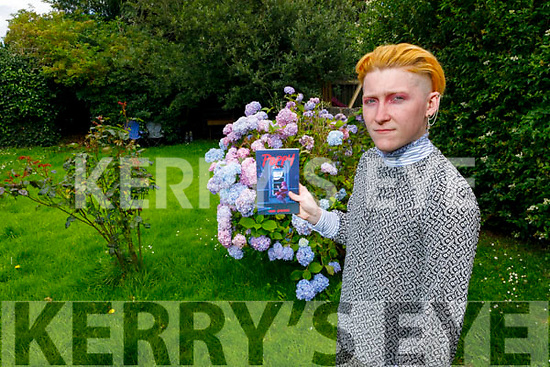 """Kelby Guilfoyle author of his new book called """"Poppy"""" pictured at his home in Oakpark on Saturday."""