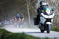 Niki Terpstra (NED/Direct Energie) leading the chase on the leaders.<br /> <br /> <br /> 82nd Gent – Wevelgem in Flanders Fields 2019 (1.UWT)<br /> Deinze – Wevelgem: 251,5km<br /> ©kramon