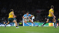 Jeronimo de la Fuente of Argentina in action during the Semi Final of the Rugby World Cup 2015 between Argentina and Australia - 25/10/2015 - Twickenham Stadium, London<br /> Mandatory Credit: Rob Munro/Stewart Communications