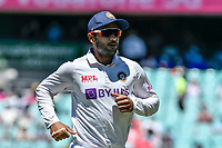 10th January 2021; Sydney Cricket Ground, Sydney, New South Wales, Australia; International Test Cricket, Third Test Day Four, Australia versus India; Wriddhiman Saha of India chases the ball