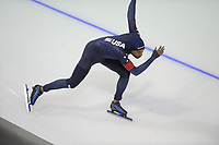 SPEEDSKATING: CALGARY: Olympic Oval, 02-12-2017, ISU World Cup, Shani Davis, ©photo Martin de Jong