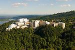 Aerial View of Oregon Health and Sciences University (OHSU), Portland, Oregon