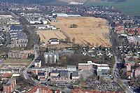 Depot: EUROPA, DEUTSCHLAND, SCHLESWIG- HOLSTEIN, GLINDE, (GERMANY), 02.04.2009: Depot Gelaende in Glinde, Bundeswehr, Umwandlung von Kaserne. Wohnraum, Baugrund, Flaeche. Bebaung, Bebauungsplan, Umwitmung,  Gebaeude, freie Flaeche, Freiflaeche, Platz , Raum, Rueckbau, An der Alten Wache, B Plan 40 a,  Investition, Luftbild, Luftansicht, Luftaufnahme, .. c o p y r i g h t : A U F W I N D - L U F T B I L D E R . de.G e r t r u d - B a e u m e r - S t i e g 1 0 2, 2 1 0 3 5 H a m b u r g , G e r m a n y P h o n e + 4 9 (0) 1 7 1 - 6 8 6 6 0 6 9 E m a i l H w e i 1 @ a o l . c o m w w w . a u f w i n d - l u f t b i l d e r . d e.K o n t o : P o s t b a n k H a m b u r g .B l z : 2 0 0 1 0 0 2 0  K o n t o : 5 8 3 6 5 7 2 0 9.V e r o e f f e n t l i c h u n g n u r m i t H o n o r a r n a c h M F M, N a m e n s n e n n u n g u n d B e l e g e x e m p l a r !.
