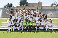 BERKELEY, CA - August, 7, 2016: Cal Women's soccer team photograph