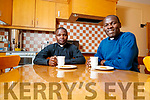 Father Amos Ruto and Father Vitalis Barasa, (Kenya) pictured in St. John's parish centre, Tralee.