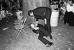 Drunk at the Berkleey Square Ball, London 1981