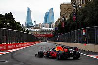 6th June 2021; F1 Grand Prix of Azerbaijan, Race Day;  33 VERSTAPPEN Max (nld), Red Bull Racing Honda RB16B during the Formula 1 Azerbaijan Grand Prix 2021 at the Baku City Circuit