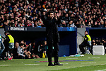 Atletico de Madrid's coach Diego Pablo Simeone during UEFA Champions League match between Atletico de Madrid and AS Monaco at Wanda Metropolitano Stadium in Madrid, Spain. November 28, 2018. (ALTERPHOTOS/A. Perez Meca)