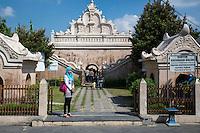 Yogyakarta, Java, Indonesia.  East Gate Entrance to the Taman Sari, the Water Castle, mid-18th. Century.