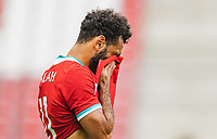 25th August 2020, Red Bull Arena, Slazburg, Austria; Pre-season football friendly, Red Bull Salzburg versus Liverpool FC;  Mohamed Salah FC Liverpool
