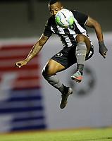 26th August 2020; Estadio Vila Capanema, Curitiba, Brazil; Copa Do Brasil, Parana Clube versus Botafogo; Guilherme Santos of Botafogo controls a high ball