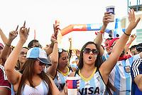 Foxborough, MA - Saturday June 18, 2016: Sponsor, Fans prior to a Copa America Centenario quarterfinal match between Argentina (ARG) and Venezuela (VEN)  at Gillette Stadium.
