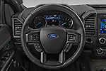 Car pictures of steering wheel view of a 2020 Ford Expedition Limited-MAX 5 Door SUV Steering Wheel
