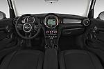 Stock photo of straight dashboard view of a 2015 MINI Cooper Hardtop S 4 Door Hatchback Dashboard