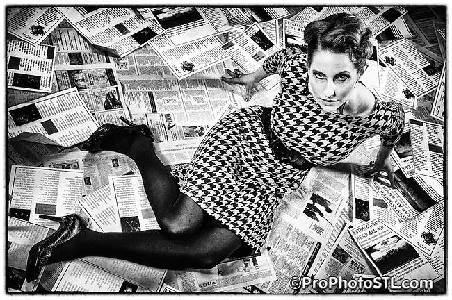 ESG's retro style studio photo shoot