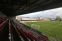 General view of the ground during West Ham United Women vs Brighton & Hove Albion Women, Barclays FA Women's Super League Football at the Chigwell Construction Stadium on 15th November 2020