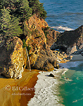 McWay Falls, Pfeiffer-Burns State Park, Big Sur, Monterey County, California