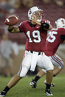 12 April 2007: Nicholas Ruhl during the annual Spring Game at Stanford Stadium in Stanford, CA.