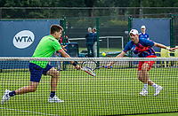 Rosmalen, Netherlands, 11 June, 2019, Tennis, Libema Open, Mens Doubles: Sander Arends (NED) and Matwe Middelkoop (NED) (R)<br /> Photo: Henk Koster/tennisimages.com