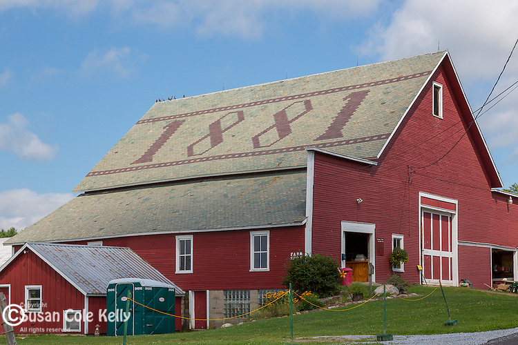 The Hathaway Farm on Prospect Hill in Rutland, Vermont