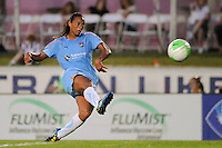 Rosana (11) of Sky Blue FC. The Philadelphia Independence defeated Sky Blue FC 4-1 during a Women's Professional Soccer (WPS) match at Yurcak Field in Piscataway, NJ, on June 19, 2010.