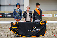 Pony Preliminary - Champion: Riley Chase (Asti); Reserve: Anna Isaac (II Skipper). 2021 NZL-Equestrian Entries NZ Youth Dressage Festival. NEC Taupo. Sunday 31 January. Copyright Photo: Libby Law Photography