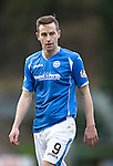 St Johnstone v Motherwell…20.02.16   SPFL   McDiarmid Park, Perth<br />Steven MacLean<br />Picture by Graeme Hart.<br />Copyright Perthshire Picture Agency<br />Tel: 01738 623350  Mobile: 07990 594431