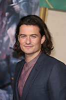 HOLLYWOOD, LOS ANGELES, CA, USA - DECEMBER 09: Orlando Bloom arrives at the World Premiere Of New Line Cinema, MGM Pictures And Warner Bros. Pictures' 'The Hobbit: The Battle of the Five Armies' held at the Dolby Theatre on December 9, 2014 in Hollywood, Los Angeles, California, United States. (Photo by Xavier Collin/Celebrity Monitor)