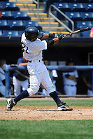 Staten Island Yankees infielder Jose Rosario (31) during game against the Aberdeen Ironbirds at Richmond County Bank Ballpark at St.George on July 18, 2012 in Staten Island, NY.  Staten Island defeated Aberdeen 3-2.  Tomasso DeRosa/Four Seam Images