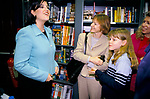 Monica Lewinsky UK 1999 promotional tour for her book Monicas Story. 1999. Meeting fans autograph hunters 1990s UK