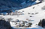 Austria, Tyrol, Ziller Valley Arena, Gerlos: popular ski resort at Gerlos Valley   Oesterreich, Tirol, Zillertal-Arena, Gerlos: beliebter Skiort im Gerlostal
