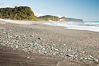 Three Mile Beach near Okarito - Westland National Park, West Coast, New Zealand