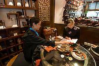 China, Peking (Beijing), Konfuzianisches Teehaus Eatea, Guozijiang Jie 28-1 beim Konfuzius-Tempel