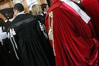 TOGHE.Roma 29/01/2010 Inaugurazione dell'Anno Giudiziario alla Corte di Cassazione..Opening of the Judicial Year..Photo Samantha Zucchi Insidefoto