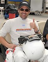 "DAYTONA BEACH, FL - JULY 03, 2008: (EXCLUSIVE COVERAGE)  Actor Patrick ""McDreamy"" Dempsey at the Rolex Series BRUMOS PORSCHE 250 at Daytona International Speedway on July 03, 2008 in Daytona Beach, Florida<br /> <br /> People:  Patrick Dempsey"