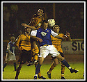 18/01/2003                   Copyright Pic : James Stewart.File Name : stewart-alloa v qots07.IAN LITTLE GETS ABOVE ANDY AITKEN......James Stewart Photo Agency, 19 Carronlea Drive, Falkirk. FK2 8DN      Vat Reg No. 607 6932 25.Office     : +44 (0)1324 570906     .Mobile  : +44 (0)7721 416997.Fax         :  +44 (0)1324 570906.E-mail  :  jim@jspa.co.uk.If you require further information then contact Jim Stewart on any of the numbers above.........