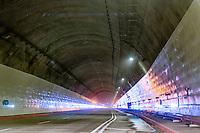 """LA LINEA - COLOMBIA, 29-08-2020: El túnel principal """"La Línea"""" tiene una longitud de  8,65 km y hace parte de El Túnel de La Línea el proyecto de infraestructura vial más importnate de Colombia que está es fase final de construcción conectará de manera eficiente los departamentos colombianos de Quindío y Tolima. El plan además consta de 24 puentes y 20 túneles de diferentes longitudes. / The main tunnel """"La Línea"""" has a length of 8.65 km and is part of El Túnel de La Línea, the most important road infrastructure project in Colombia, which is in the final phase of construction and will efficiently connect the Colombian departments of Quindío and Tolima. The plan also consists of 24 bridges and 20 tunnels of different lengths. Photo: VizzorImage / Gabriel Aponte / Staff"""