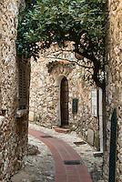 Medieval architecture, Eze, Cote d'Azur, France
