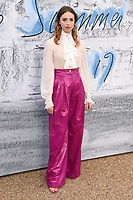 Freeya Mayvor<br /> arriving for The Summer Party 2019 at the Serpentine Gallery, Hyde Park, London<br /> <br /> ©Ash Knotek  D3511  25/06/2019
