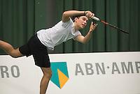 Rotterdam, Netherlands, Januari 28, 2017, ABNAMROWTT, Clubkampioenen, Wesley Visser/Christiaan Kleiweg<br /> Photo: Tennisimages/Henk Koster