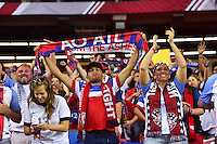 Atlanta, GA - Sunday Sept. 18, 2016: Fans prior to a international friendly match between United States (USA) and Netherlands (NED) at Georgia Dome.
