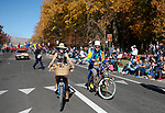 Karen and Charlie Abowd ride in the Nevada Day parade in Carson City, Nev., on Saturday, Oct. 26, 2019.  <br /> Photo by Cathleen Allison/Nevada Momentum