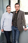 """Leonor Watling and Pablo Derqui during the presentation of """"Pulsaciones"""" the new prime time serie of Antena 3 tv in Madrid. May 03, 2016. (ALTERPHOTOS/Borja B.Hojas)"""