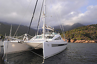 - Corsica, yachts moored in the Girolata Bay, UNESCO Human Heritage site<br /> <br /> - Corsica, yachts ormeggiati nella baia di Girolata, patrimonio mondiale dell'Umanità
